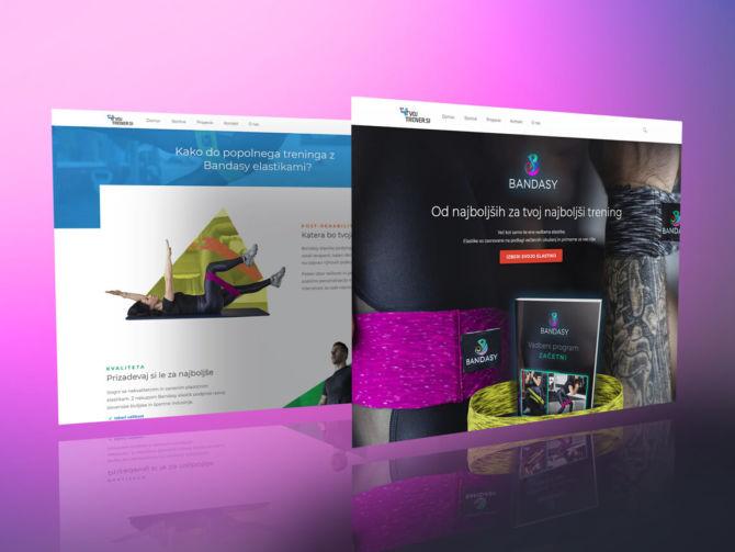Izdelava ciljno profitabilno spletno stran za Bandasy
